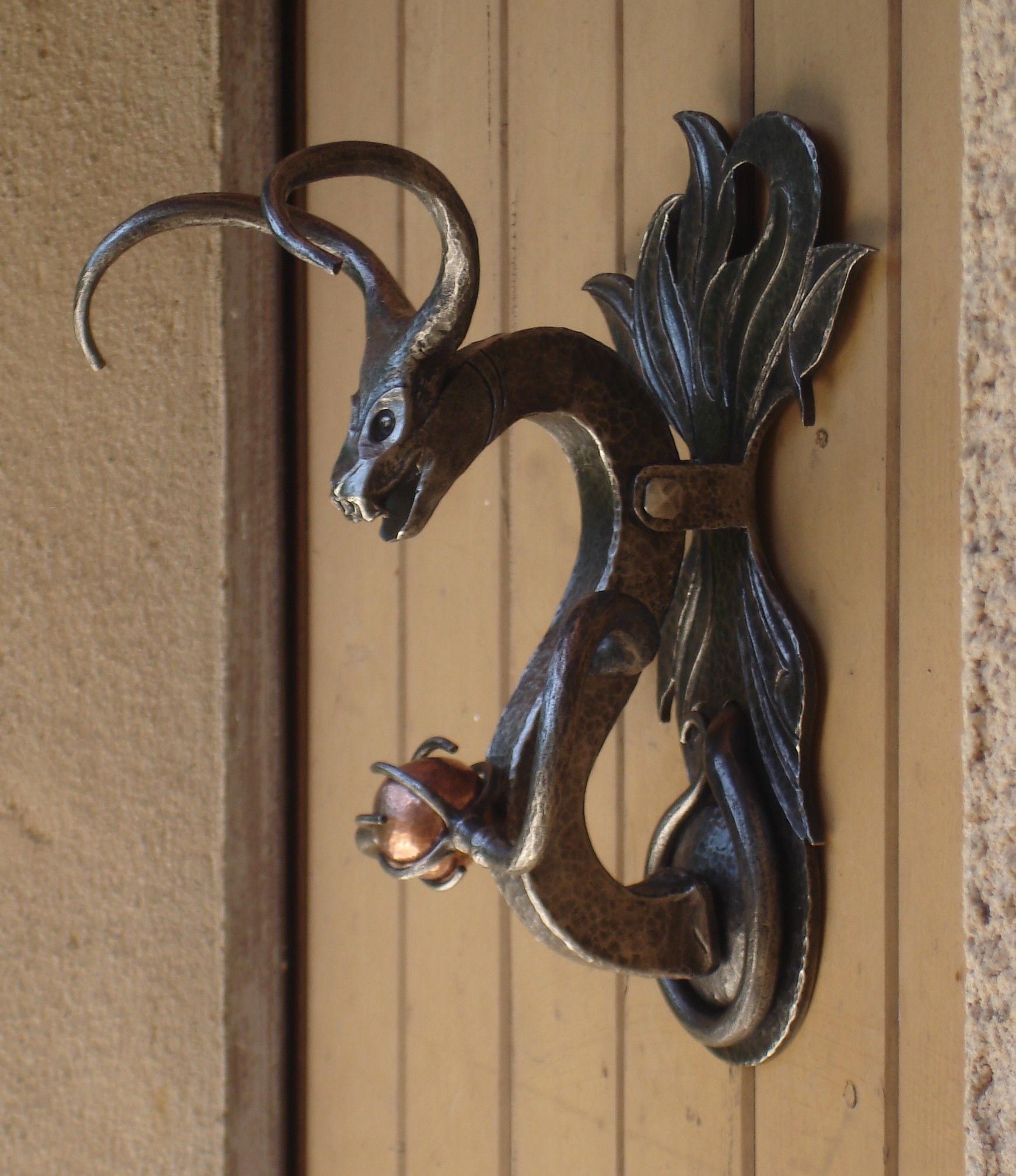 Heurtoir De Porte Dragon , Door Knocker
