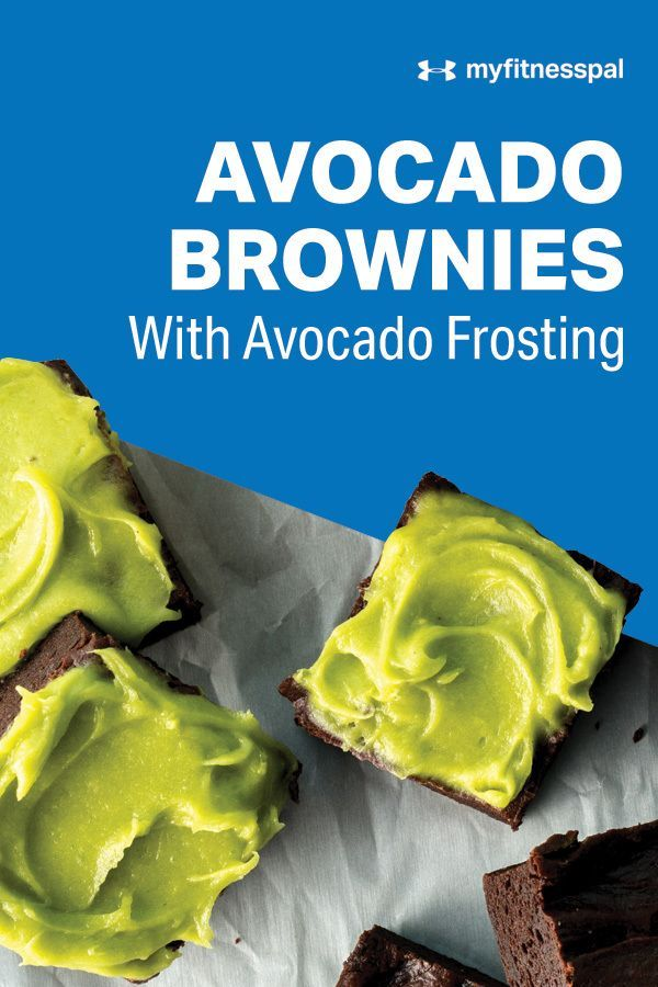 Avocado Brownies With Avocado Frosting | Recipe | Recipes | MyFitnessPal Avocados in dessert? You r