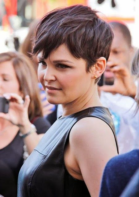 2014 new Ginnifer Goodwin Pixie Cut Pictures Projets à