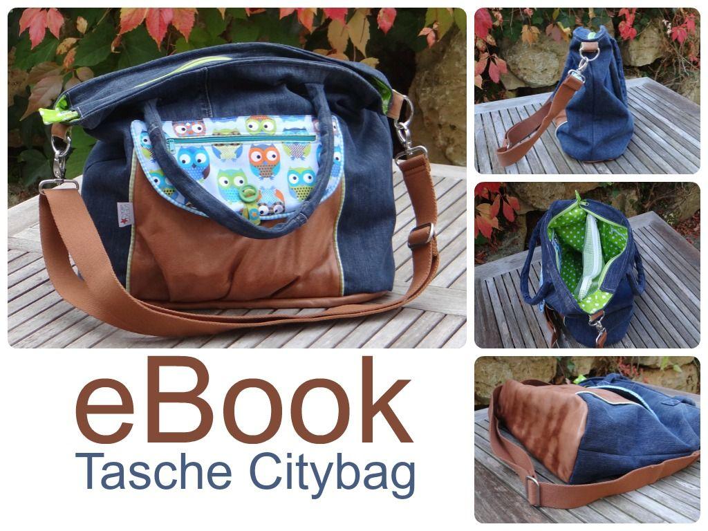 Neues eBook Tasche Citybag (Keko-Kreativ) | Pinterest | Taschen ...