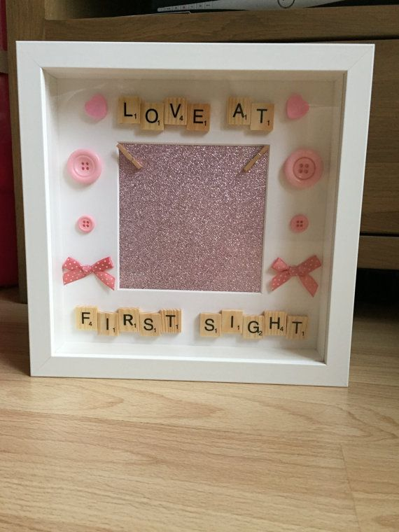 New Baby Girl Frame Scan Photo Frame Scan Picture Frame Its A