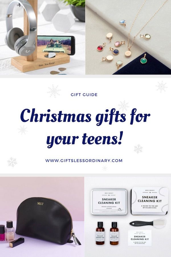Christmas Gifts For Your Teens By Gifts Less Ordinary Personalised Christm Christmas Gifts For Teenagers Christmas Gifts For Kids Personalized Christmas Decor