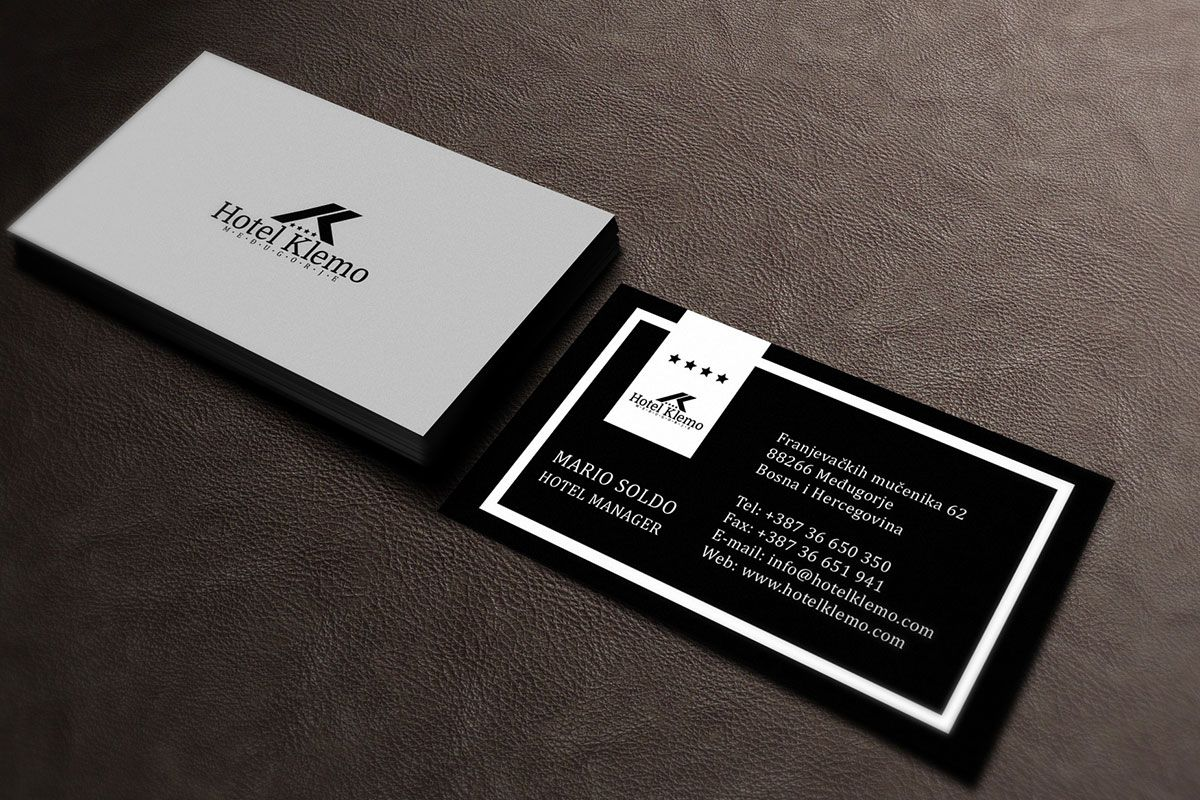 Premium hotel business card design designatic branding premium hotel business card design designatic colourmoves