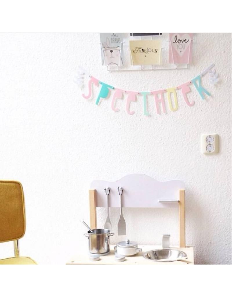 Letter Banner: Pastel - A Little Lovely Company