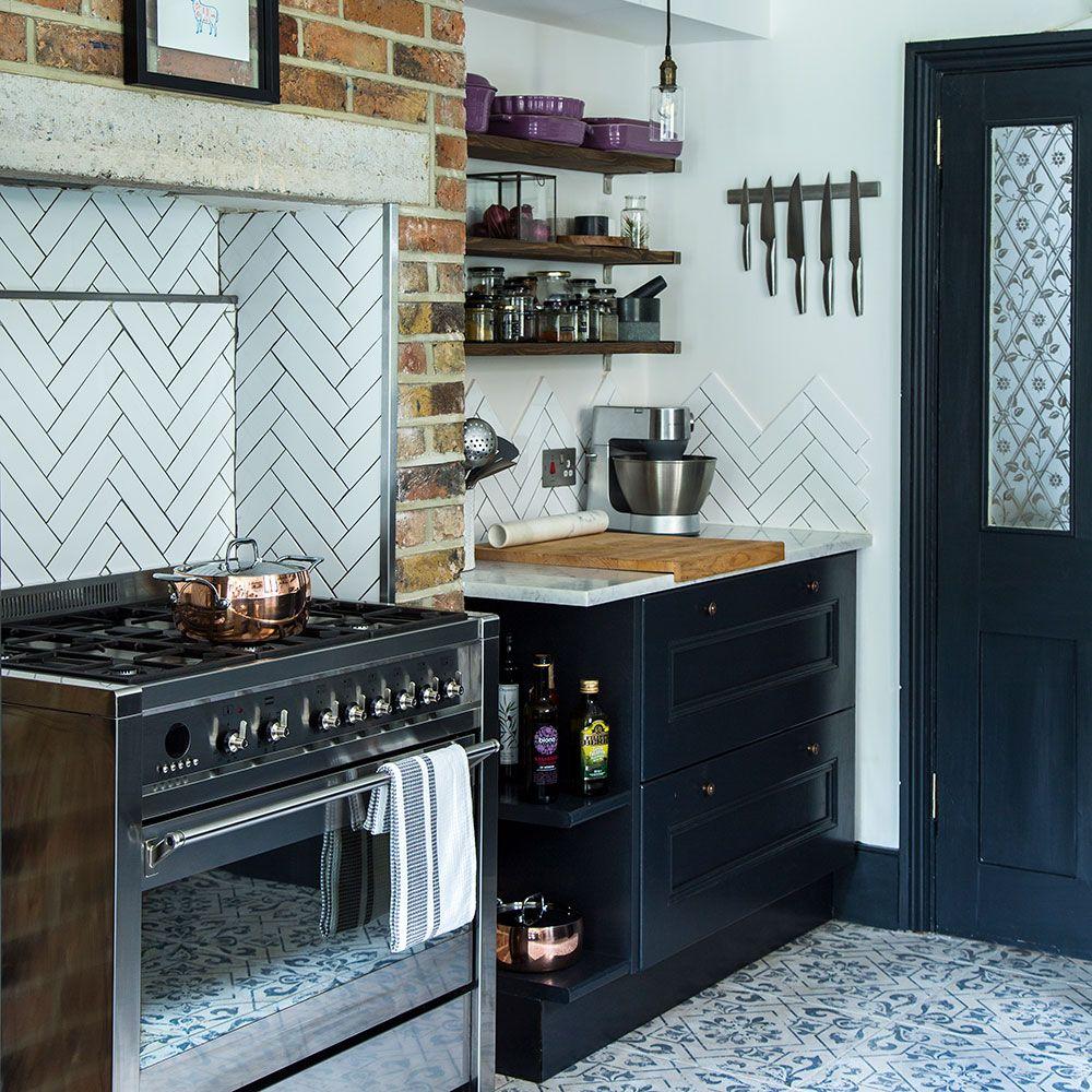 Fesselnd Erkunde Dunkelblaue Küchen, Schmale Küche Und Noch Mehr!