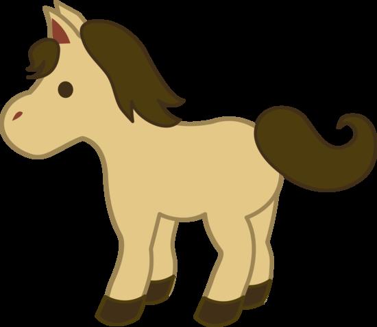 Cute Cream Colored Pony Free Clip Art Horse Clip Art Free Clip Art Horse Cartoon