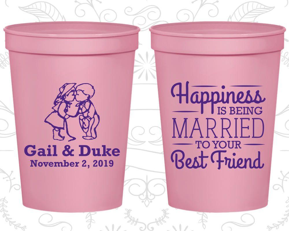 Wedding Stadium Cups, Wedding Cups, Plastic Cups, Stadium Cups ...