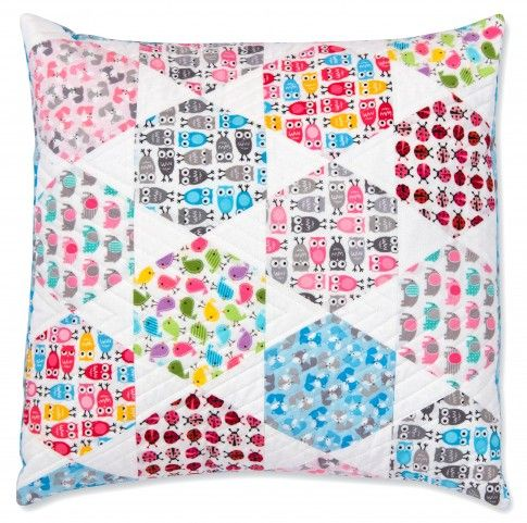 Candy Dish Pillow Designed By Jaybird Quilts Features Kona Cotton