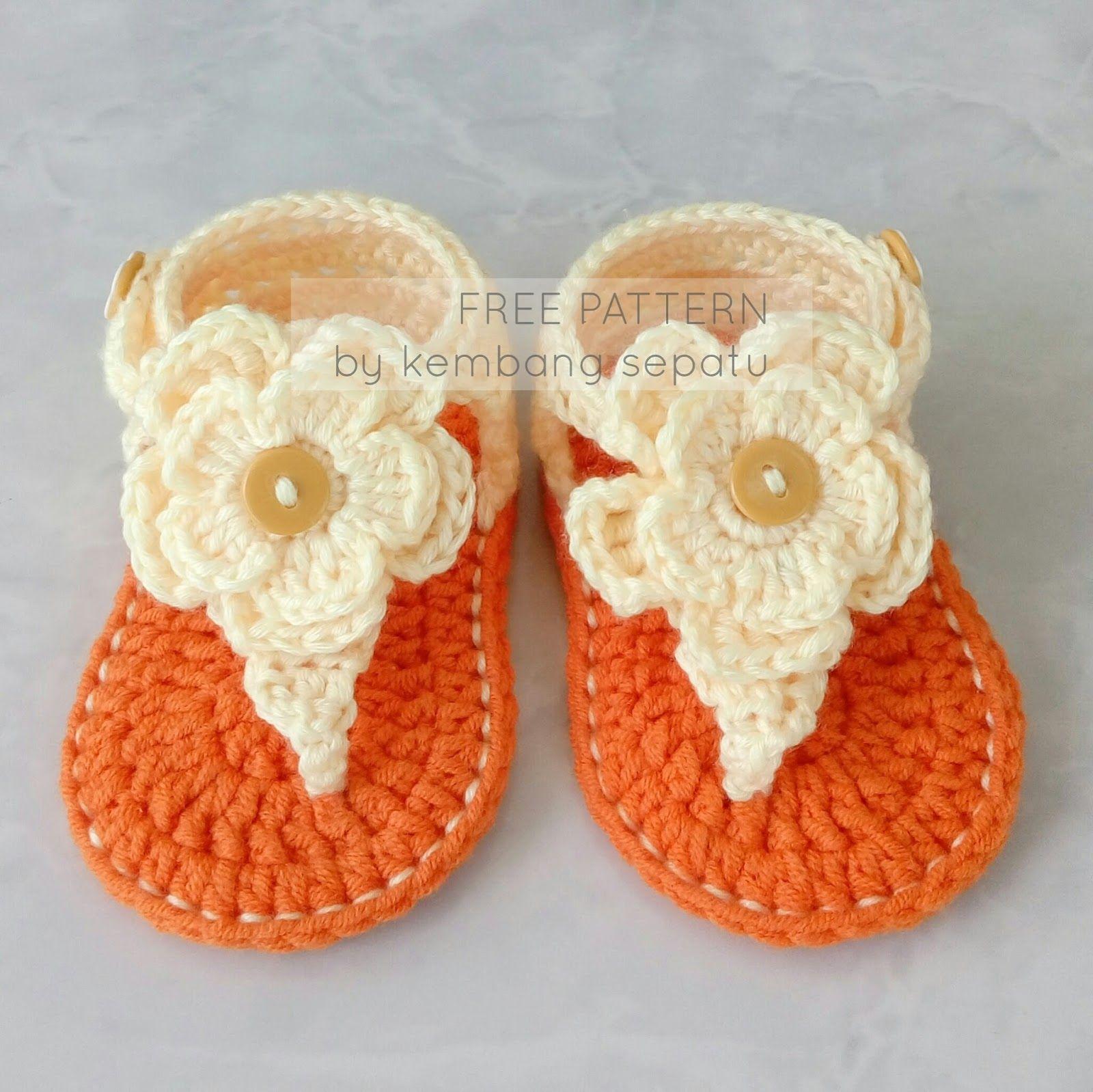 42a20e15592d Free Pattern on Kembang Sepatu Blog  Summer Poppy Gladiator Tutorial ...