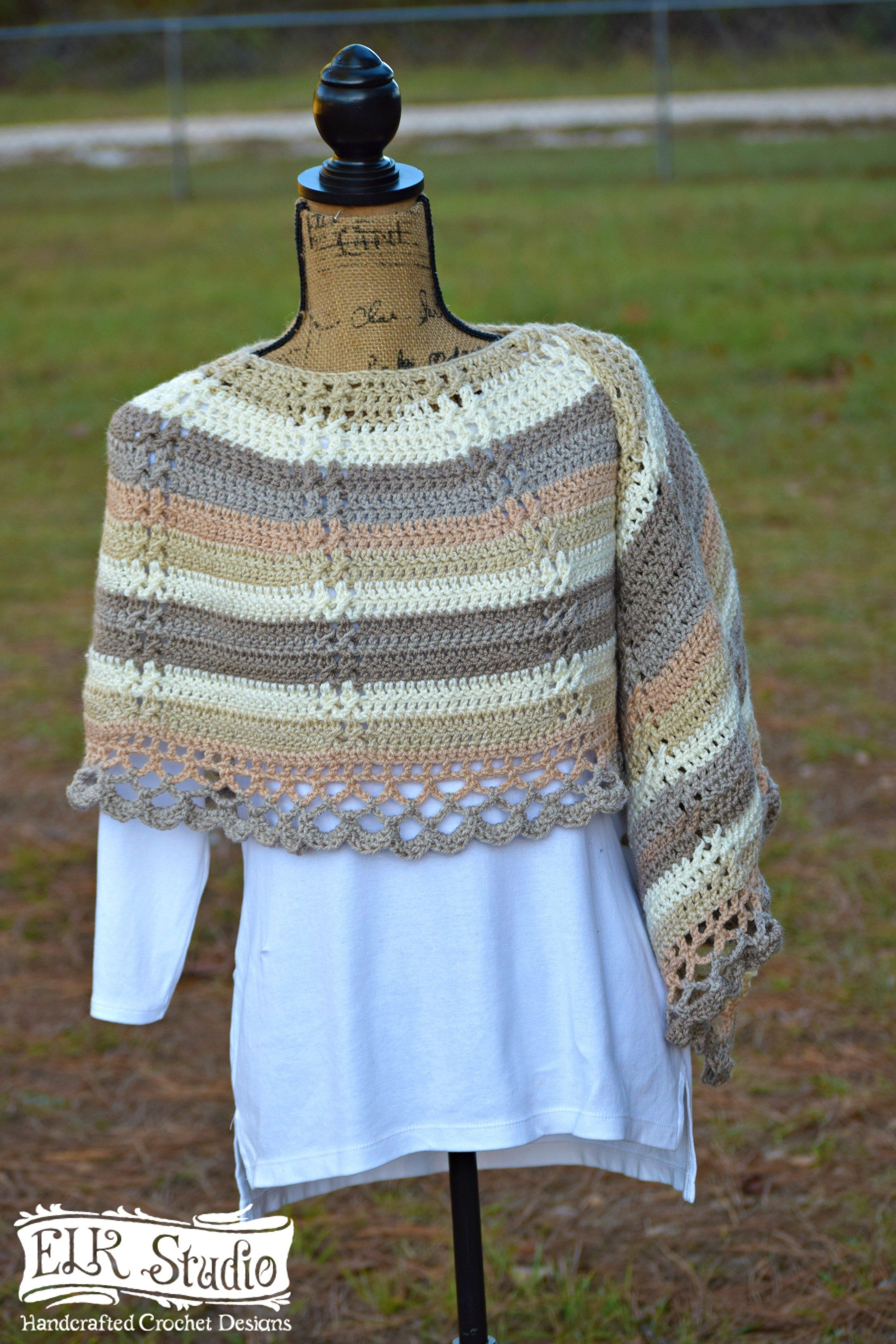 Caron Cakes and Delightfully Southern Shawl by ELK Studio | Tücher ...