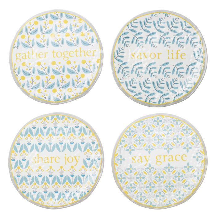 This is the Table Dessert Plates - Set of 4 | $30 Made of melamine.  sc 1 st  Pinterest & This is the Table Dessert Plates - Set of 4 | $30 Made of melamine ...