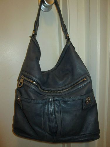 Marc By Jacobs Totally Turnlock Core Faridah Blue Hobo Handbag Rare Ebay