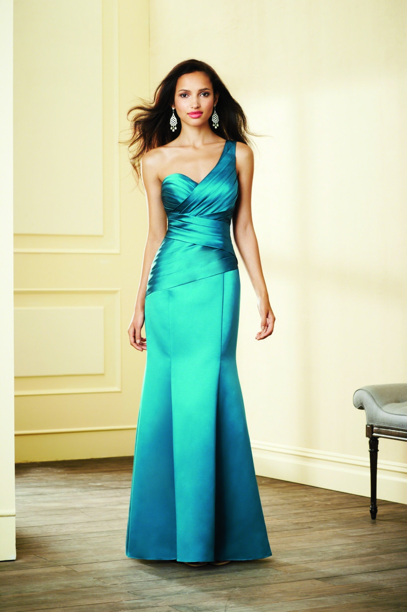 To acquire Angelo Alfred bridesmaid dresses one shoulder picture trends