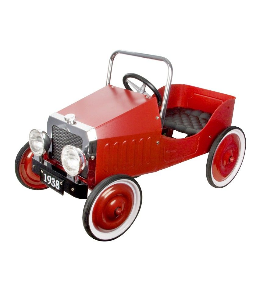 Vintage Red Pedal Car - Vintage Cars - up to 40% off