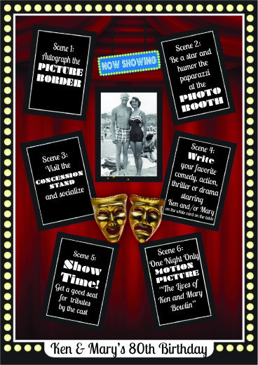 To Show You Love Movie Theme Party Movie Themed Party Hollywood Party Theme Party Themes