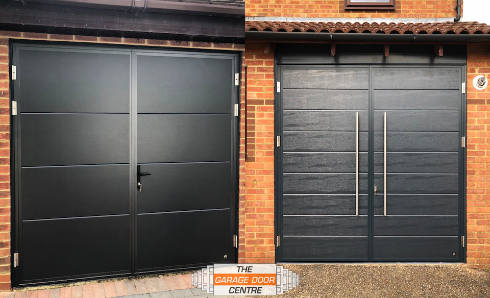 Pin By Diana On Cocheras With Images Side Hinged Garage Doors Garage Doors Stylish Doors