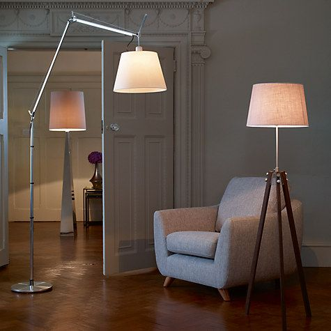 Artemide Tolomeo Mega Terra Floor Lamp Iron Floor Lamp Wood Floor Lamp Floor Lamp