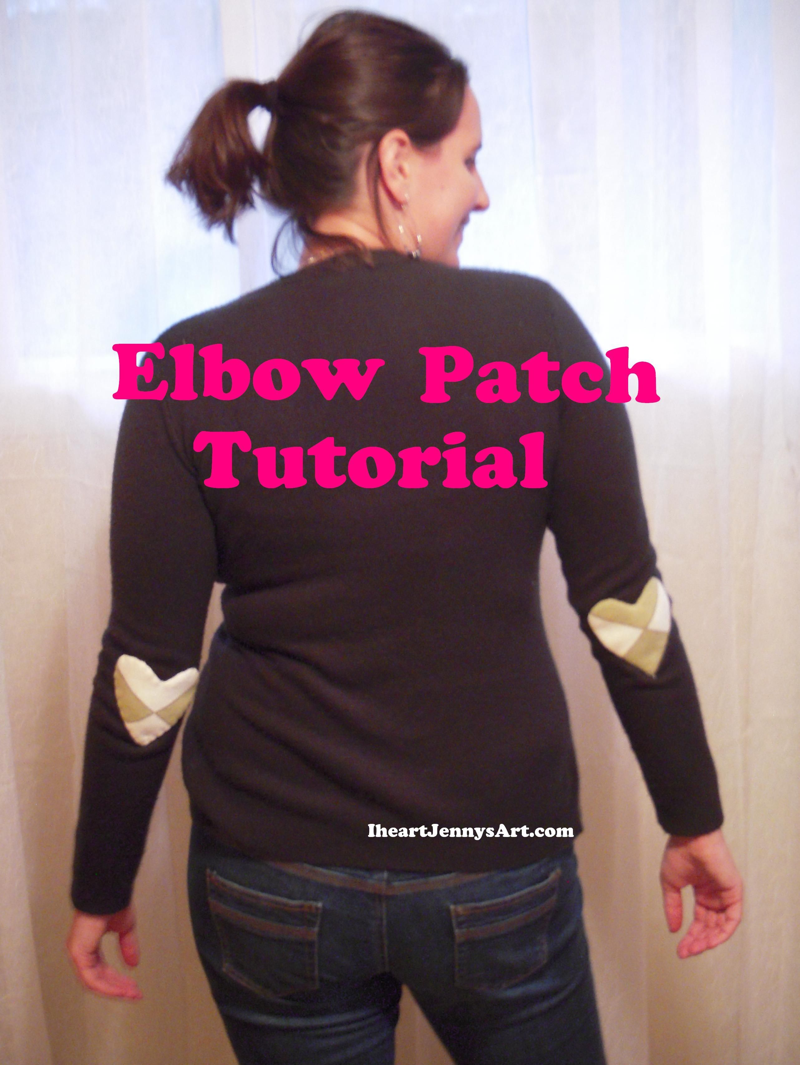 Project 1 of a three part series. How to make elbow patches