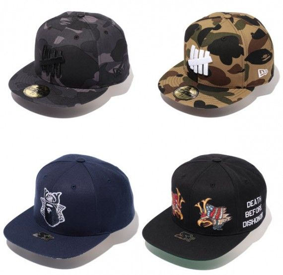 A Bathing Ape x UNDFTD   Fall/Winter 2012 Capsule Collection