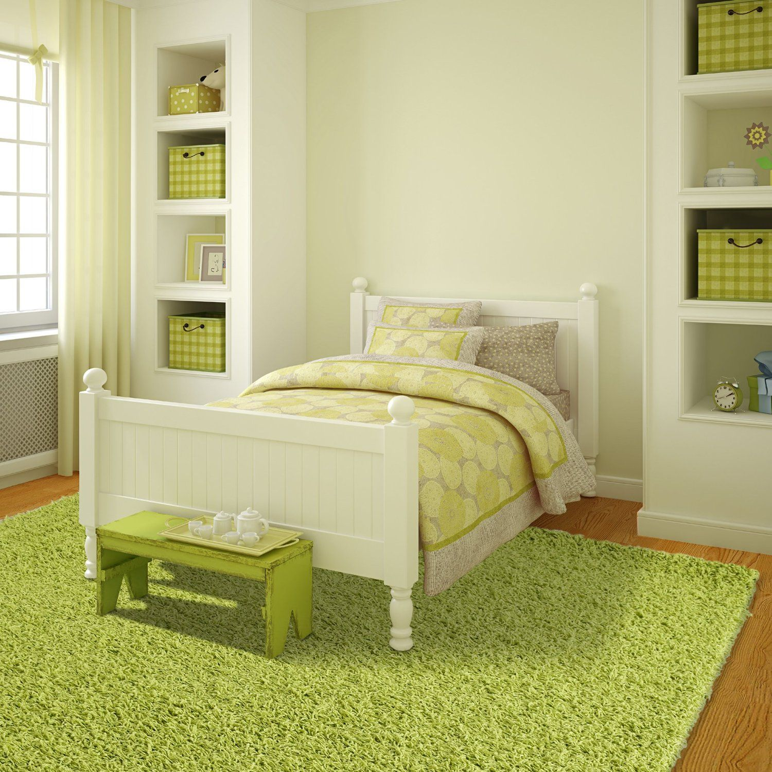 Lime green area rugs for the living room, bedroom and kids\'rooms ...