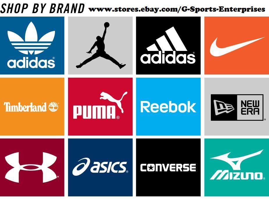 G Sports Enterprises All Sneakers 40 70 Below Retail Www Stores Ebay Com G Sports Enterprises Sports Brand Logos Sports Brands Clothing Brand Logos