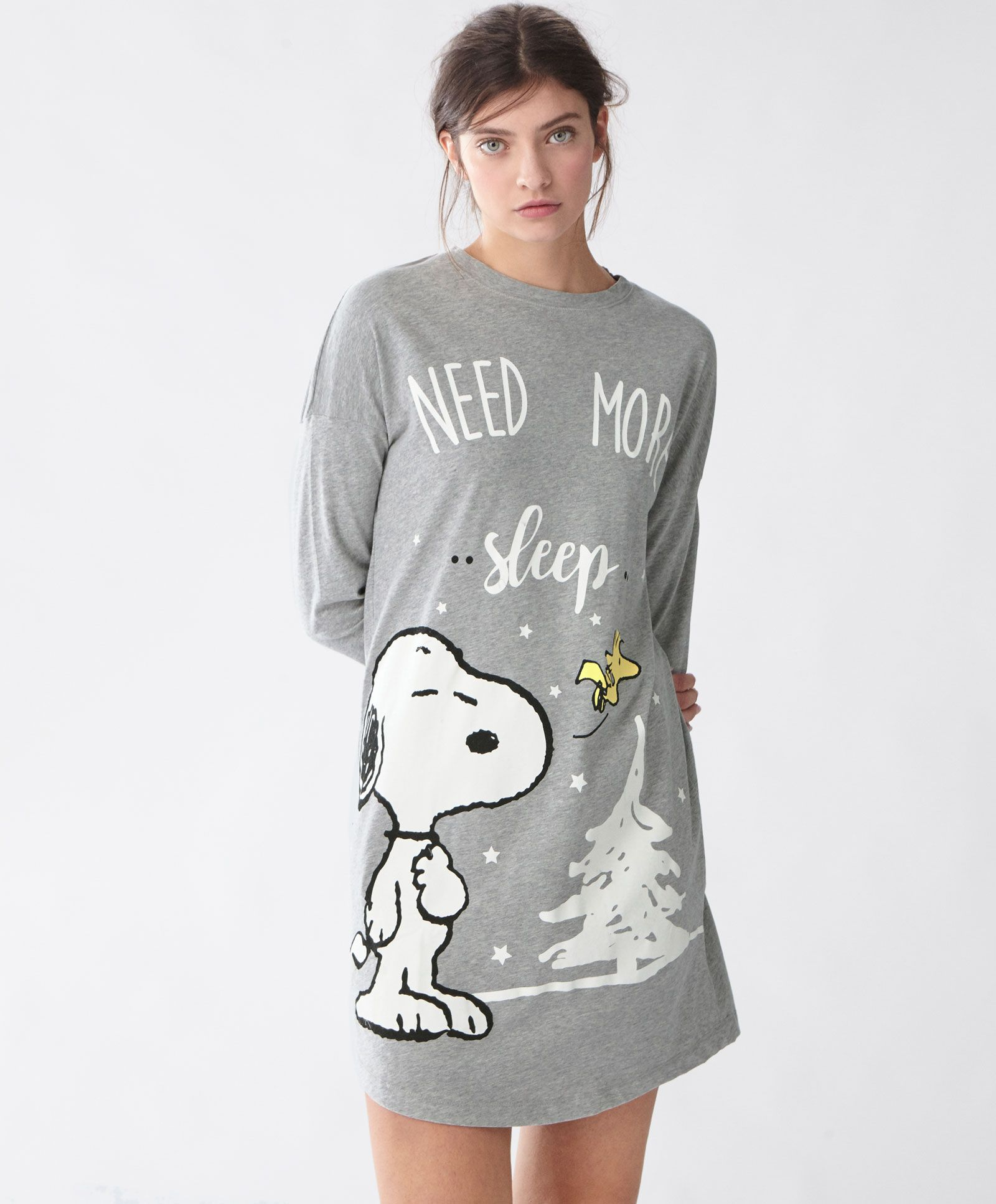 c6a92064803c07 Oysho - Snoopy nachthemd