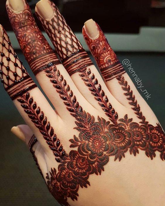 Mehndi Unique Design 2018 : Some of most stunning hand mehndi designs for girls
