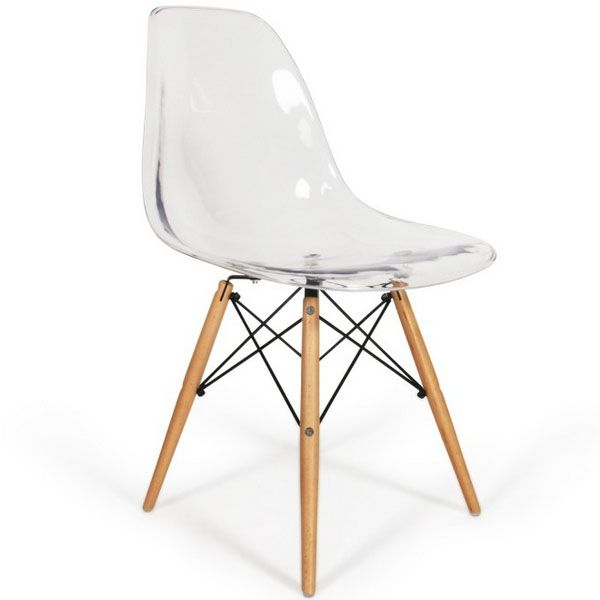 Chaise Eames DSW Style Transparent | Casa | Pinterest | Room and ...