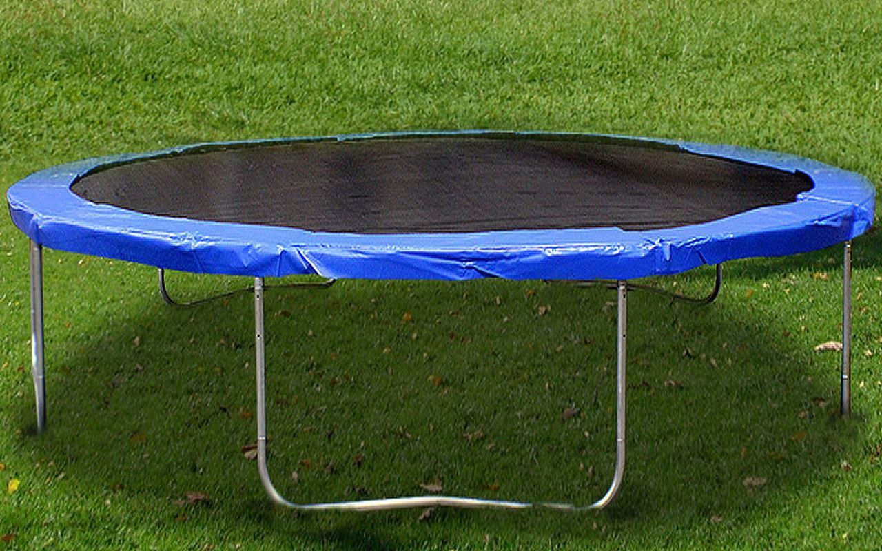16ft trampoline combo bounce jump safety enclosure net