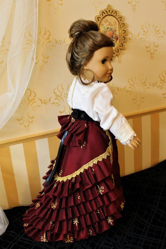18 inch Historic Dress for American Girl Doll #historicaldollclothes