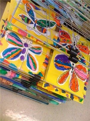 37596d87affa3c551683fe5137d80763 Kindergarten And First Grade Art Projects on using shapes, end school, for kindergarten, fall scarecrow, one day, cutest beginning year, eric carle,