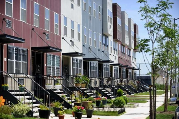 Spring Creek Nehemiah Is An Affordable Housing Success Story In Affordable Housing Wellness Design Affordable Rentals