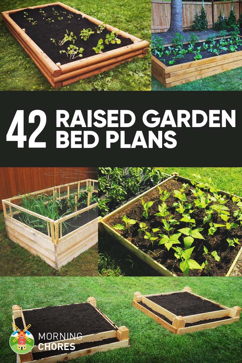 42 diy raised garden bed plans ideas you can build in a day - Diy Vegetable Garden Ideas