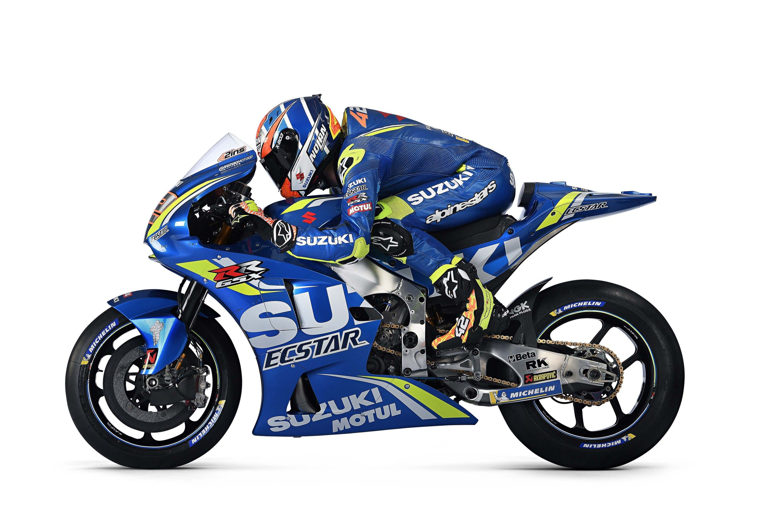here is the ecstar suzuki 2018 motogp livery asphalt rubber