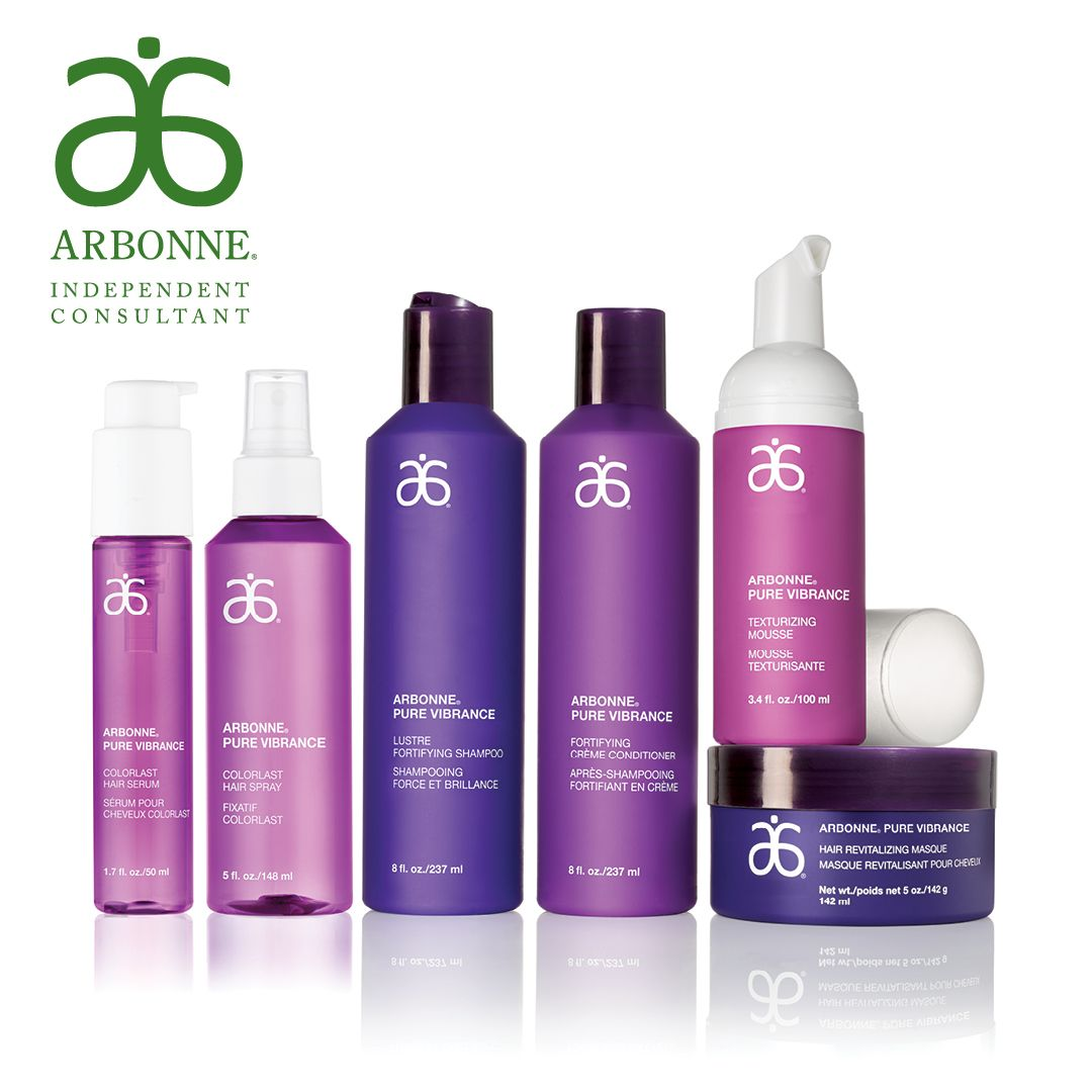 Arbonnes Pure Vibrance Hair Care For Color Treated Hair Shampoo