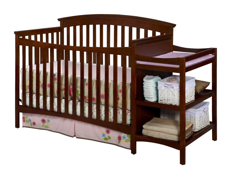 Amazon Com Delta Children S Products Walden Crib And Changer Spice Cinnamon Baby Cribs Baby Cribs Delta Children