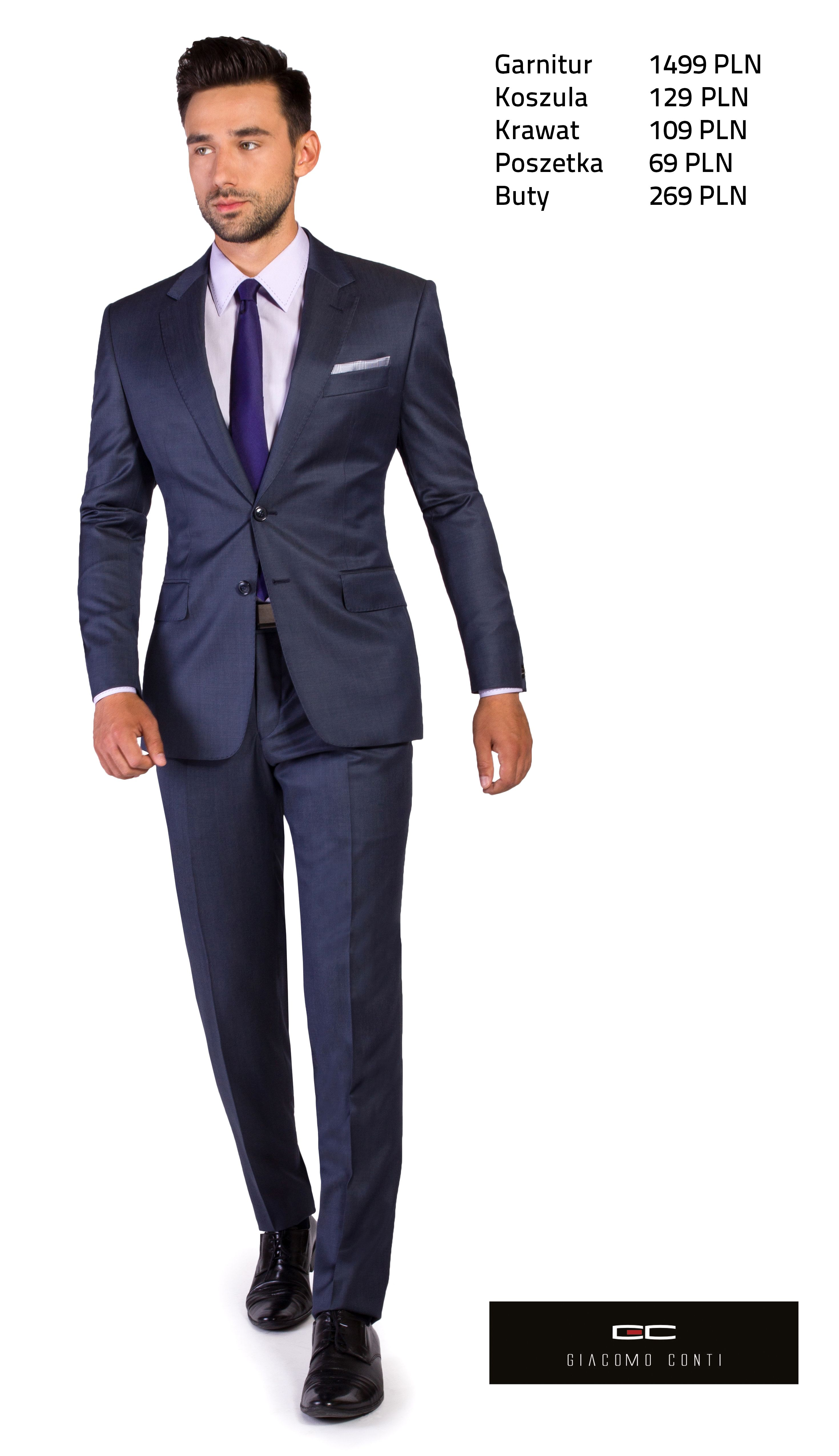 Propozycja Biznesowa Giacomo Conti Z Grafitowym Garniturem Carlo2 E13 21b Giacomoconti Mens Suits Suits Mens Fashion