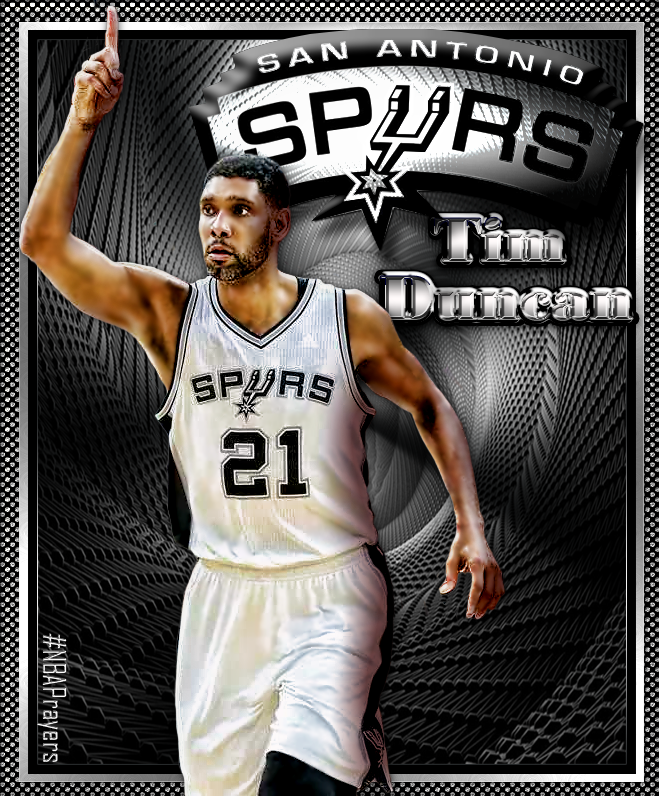 Nba Player Edit Tim Duncan Spurs Basketball Tim Duncan Nba Champions