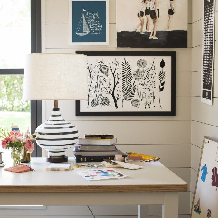 Lamp and art