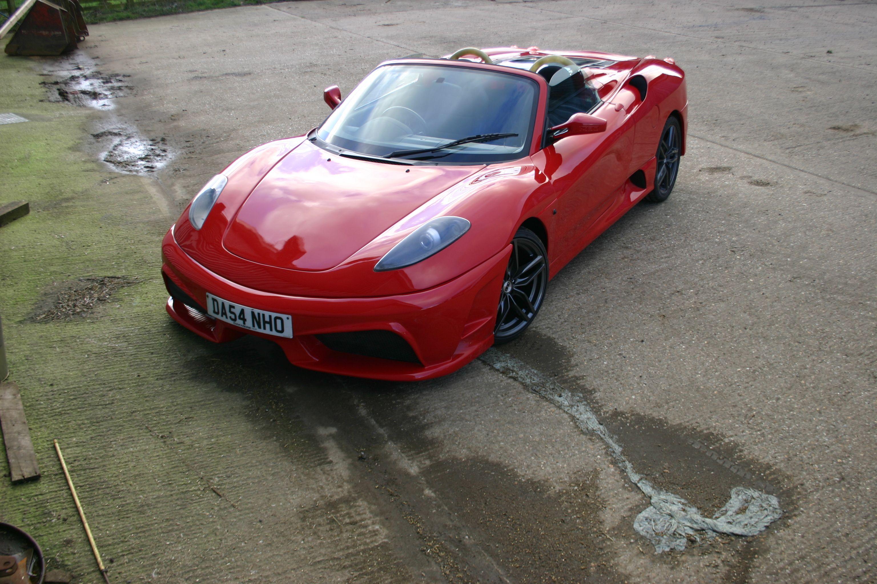 Rosso F430 16M Scuderia Replica Ferrari F430 Replica Based-2458