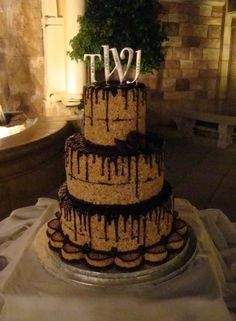 Rice Krispies Wedding Cake   Google Search