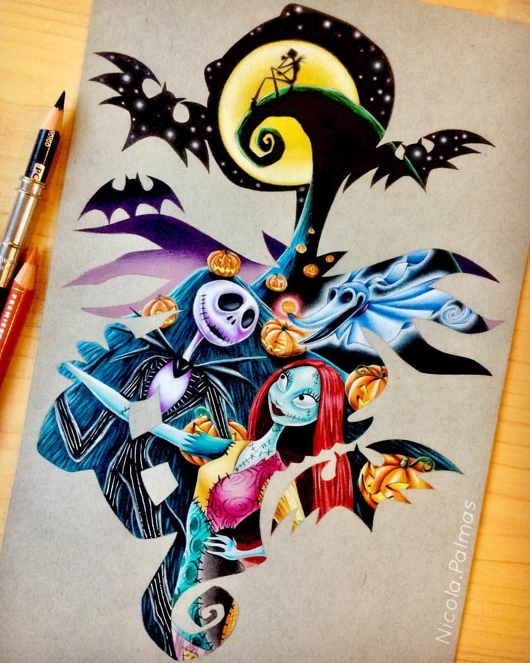 How to Draw Zero from The Nightmare Before Christmas