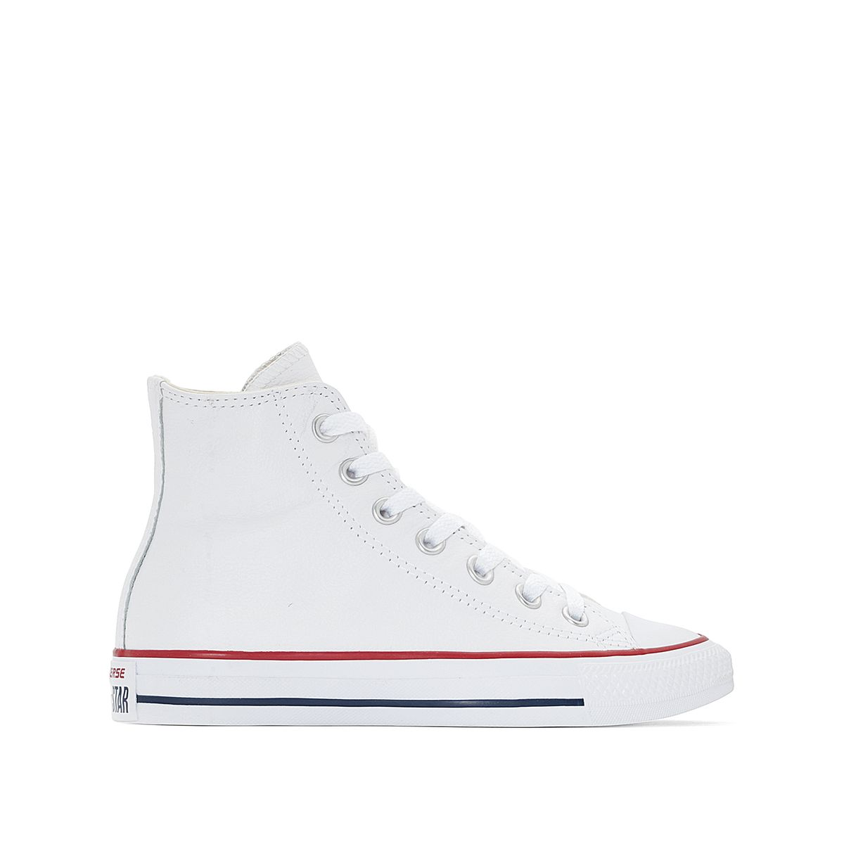 basket converse cuir blanc