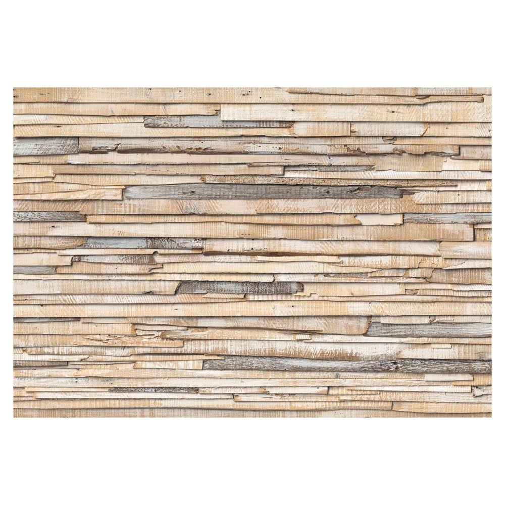 Shop provincial wallcoverings whitewashed wood mural at loweus