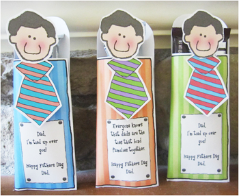 Father S Day Homemade Gift Ideas Candy Bar Wrappers Ties