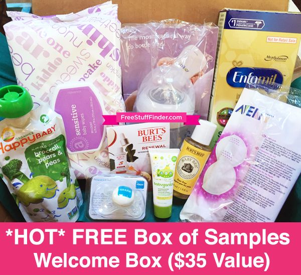 Free Amazon Baby Welcome Box Free Shipping Prime Members 35