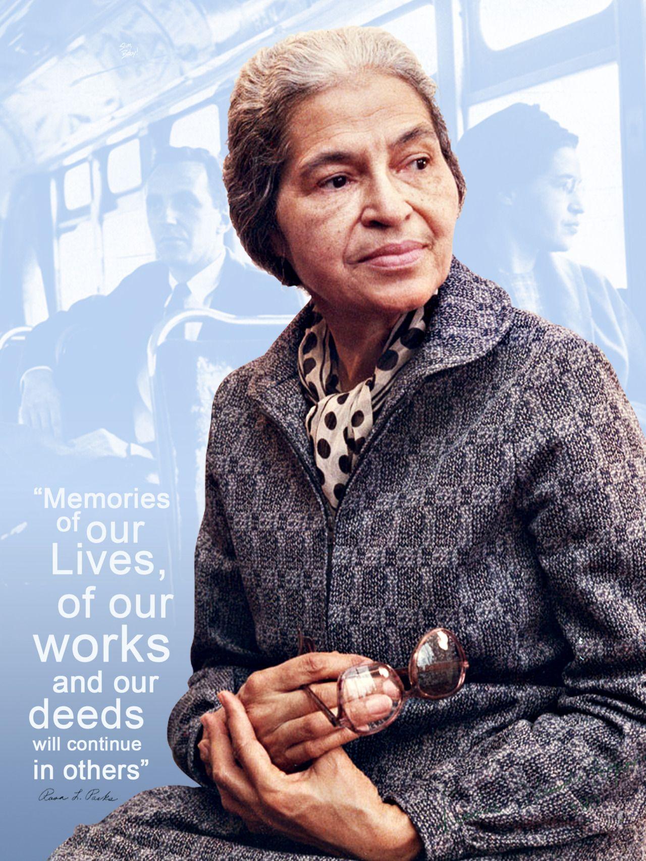 Rosa Parks #BlackHistoryMonth Tribute Design (2/12/11)