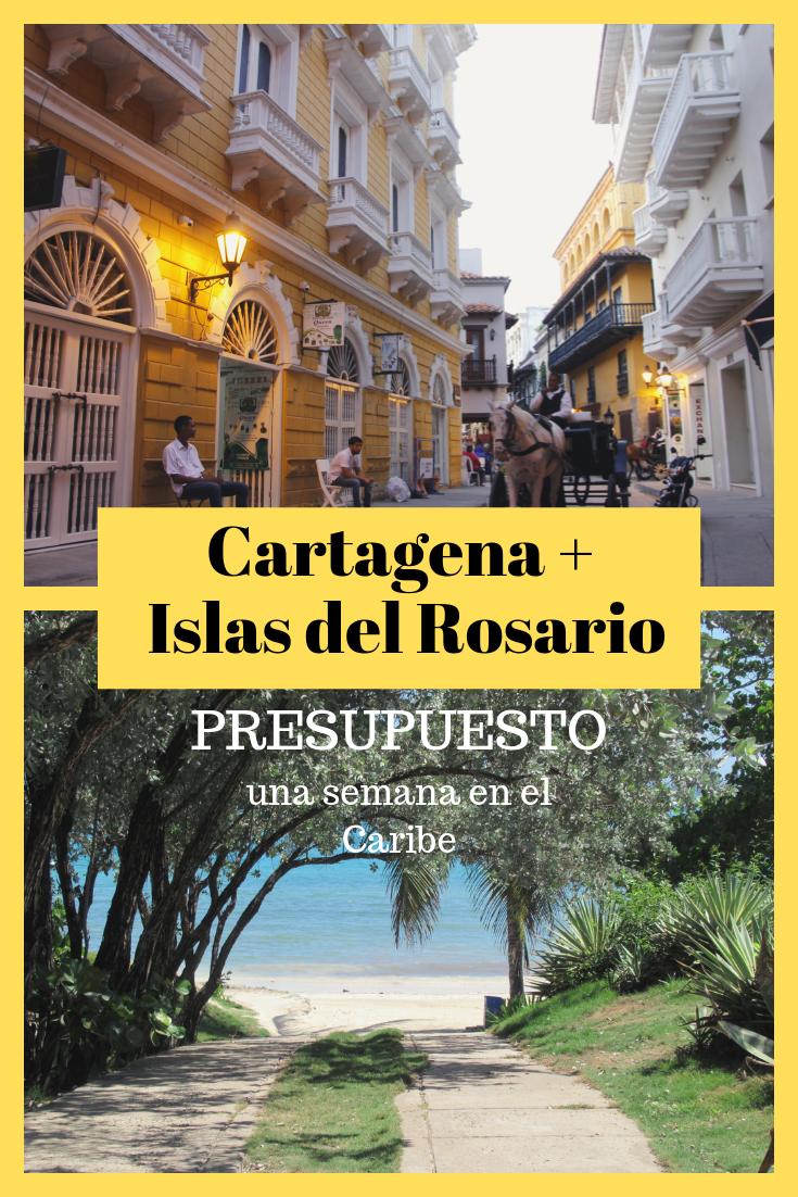 Presupuesto Viaje Cartagena E Islas Del Rosario Cartagena De Indias Cartagena De Indias Colombia Cartagena
