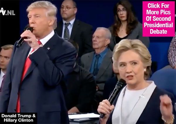Hillary Clinton & Donald Trump Sing 'Time Of My Life' At Debate In Viral Video — Watch