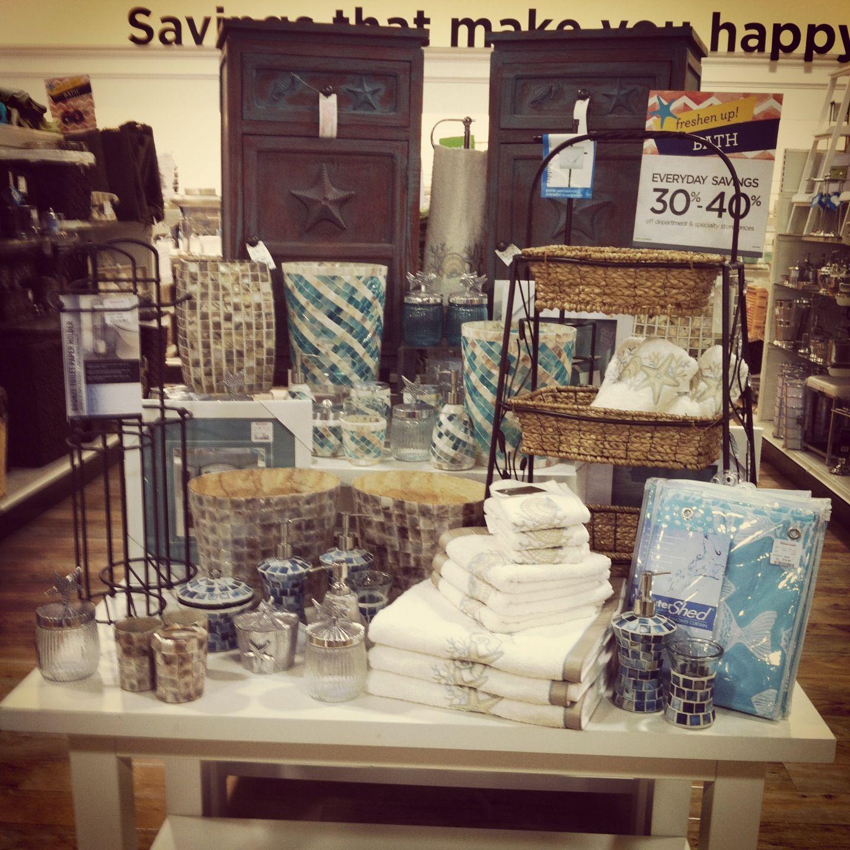 Household Goods Store: HomeGoods: Beach Themed Bath Feature